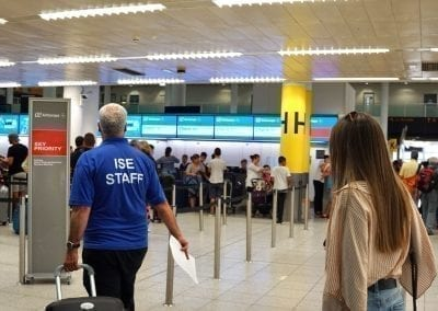 ISE Brighton Airport Pickup